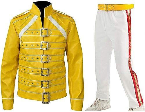 Fashion_First Herren Jacke Gelb Frotdie Mercury Jacket