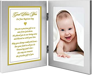 Precious Gift from God, Baby Baptism Gift from Grandparent, Godparent - Add Photo