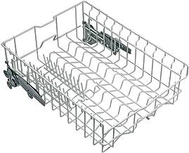 ORIGINAL Bosch Siemens 00686437 686437 Geschirrkorb Korb Bodenkorb Korbeinsatz oben Oberkorb inkl 6 Korbrollen Spülmaschine Geschirrspüler auch Küppersbusch 436992