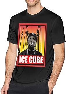 Mens Classic Ice Cube T-Shirts Black