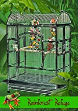 rainforest bird cage stand