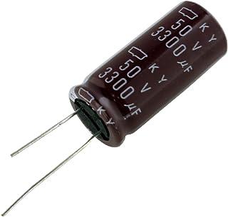 【10個】 電解コンデンサー 50V 3300uF 18x40 [NIPPON CHEMI-CON]