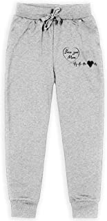 Yuanmeiju ilove You Mom_Mother Day Boys Pantalones Deportivos,Pantalones Deportivos for Teens Boys Girls