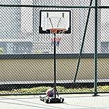Immagine 1 homcom canestro basket altezza regolabile