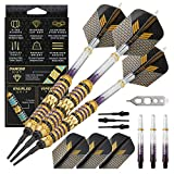 Viper Wizard Soft Tip Darts with Storage/Travel Case, Purple Rings, 18...