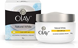 Olay Natural White Glowing Fairness Day Cream SPF 24, 50g