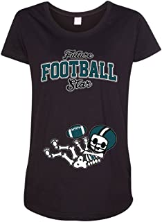 Future Football Star Philadelphia Baby Skeleton Maternity DT T-Shirt Tee