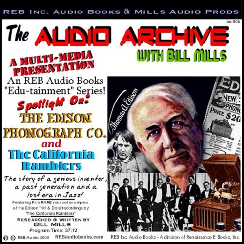 The Edison Phonograph Company and The California Ramblers audiobook cover art