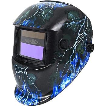 DEKO Welding Helmet Auto Darkening Professional Hood welding mask Solar Powered