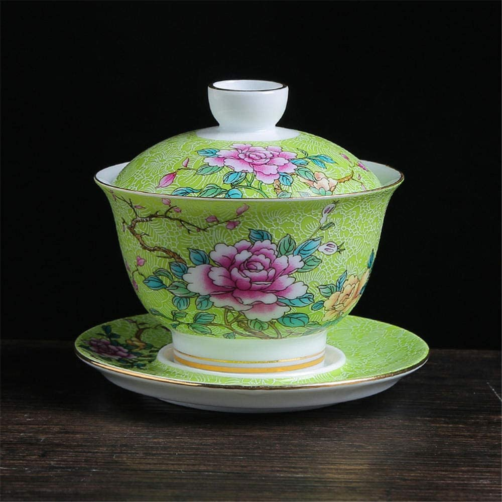 Traditional Topics on TV Chinese ceramic teacup and bi flower Limited price sale Kungfu