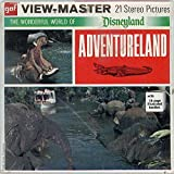 DISNEYLAND CALIFORNIA - ADVENTURELAND - Classic ViewMaster Reels 3D - from the 1970s - factory sealed