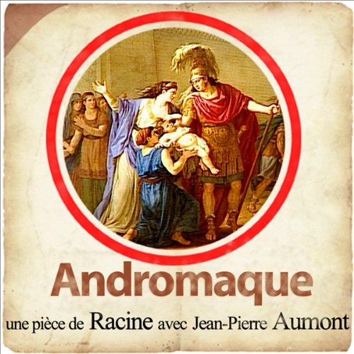 Andromaque audiobook cover art