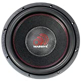 Massive Audio SUMMOXL124 3,000W Max, 12' SUMMO-Series Car Subwoofer (SUMMOXL-124)