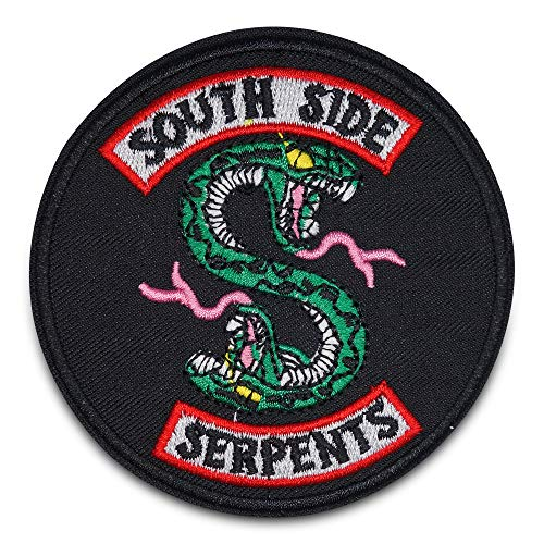 Finally Home South Side Serpents Riverdale Bügelbild Patch zum Aufbügeln | Patches, Aufbügelmotive