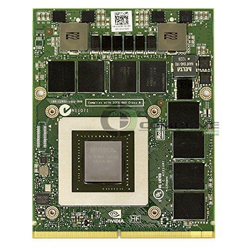 Nvidia Quadro K5000M Mobile 4GB GDDR5 MXM 3.0 GPU Video Card N14E-Q5-A2 Dell T9V0C Precision M6700 M6600