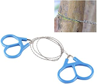 Filfeel Mini Stainless Steel Wire Saw Emergency Camping Hunting Survival Tool Chain High Strength Ring Scroll Travel Hiking Outdoor