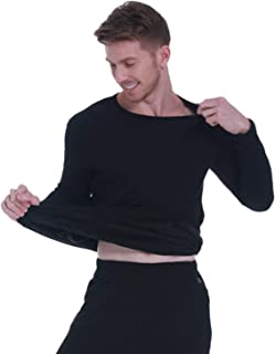 EWYI Heating Underwear Set, Electric Heated Thermal Long Sleeve T Shirts or Pants Suitable for People Who are Afraid of Co...