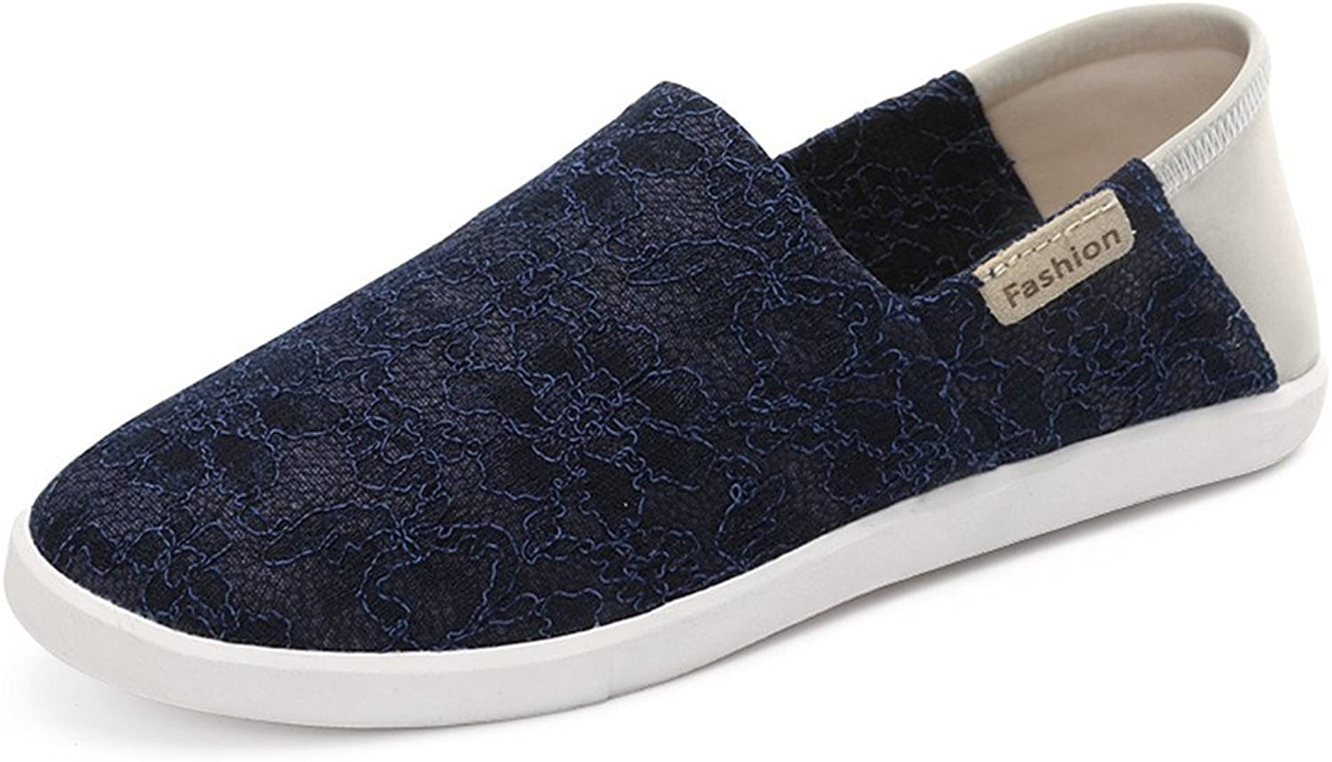 XDX Taste Of Life Fashion Women's Lace Mesh Slip On Sneakers shoes