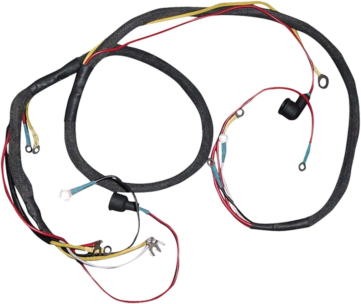 Amazon.com: New Complete Tractor Wiring Harness 1100-0581HN Compatible  with/Replacement for Ford/New Holland 2N, 8N, 9N 8N14401B: AutomotiveAmazon.com