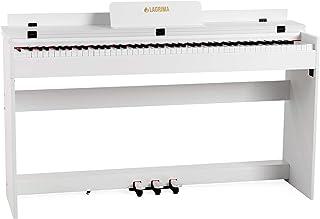 LAGRIMA Piano Droit Numérique M-309 88 Touch de Taille Authentique Clavier Electronique pour Débutant/Adulte avec Adaptate...