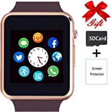 Smart Watch,Unlocked Touchscreen Smartwatch Compatible with Bluetooth/Android/IOS..