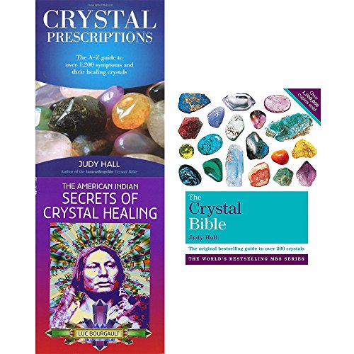 Price comparison product image Crystal bible volume 1,  crystal prescriptions and american indian secrets of crystal healing 3 books collection set