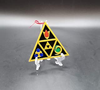 Zelda Ocarina of Time Spiritual Stones Inspired Christmas Ornament Prop Replica