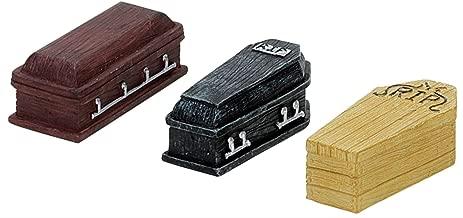 Lemax Spooky Town Halloween Coffins (Set of 3)  74583