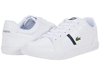 Lacoste Europa 0120 1 (White/Dark Grey Green) Men