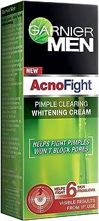 Garnier Men Acno Fight Pimple Clearing Whitening Cream Helps Fight 6 Skin Problems 45 Gram