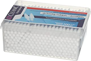 Cleanic Cotton Buds For Make Up Removel - 200 Pieces
