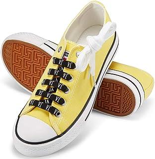 JENN ARDOR Women's Canvas Shoes Casual Sneakers Low Cut...