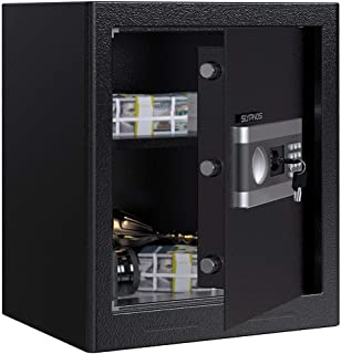 SLYPNOS Digital Security Safe Box Large Lock Box (1.53 Cubic Feet)