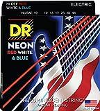 DR Strings HI-DEF NEON Electric Guitar Strings (NUSAE-10),Medium