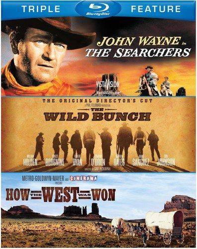 Searchers & Wild Bunch & How the West Was Won [Blu-ray] [Importado]