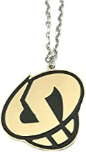 Pokemon Game Team Skull Cosplay Silver Tone Necklace w/Gift Box by Superheores