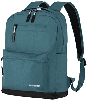 Luggage series kick off: practical bag for holidays and sports, travelite hand luggage, petrol (Turquoise) - 06917-22