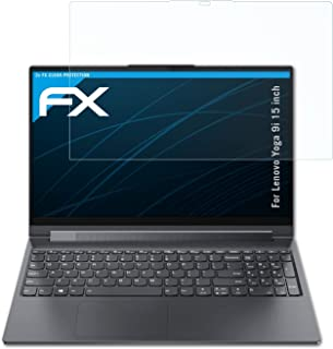 atFoliX Schermbeschermer compatibel met Lenovo Yoga 9i 15 inch Beschermfolie, ultra-helder FX Schermfolie (2X)