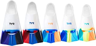 TYR Stryker Silicone fin Swimming Equipment, Clear, Large