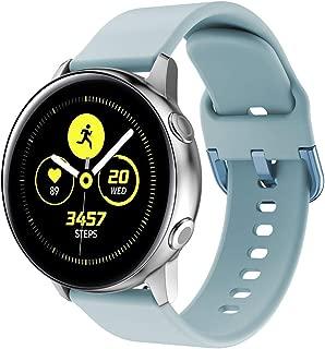 for Samsung Galaxy Gear Watch Active 2/ Active/Gear 42mm Strap Band for Watch Strap Watchband Wristband Smartwatch Bracelet (Light Blue)