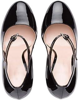se descuenta ZHAOYUNZHEN Plataforma rojoonda Impermeable para Mujer Mujer Mujer con Tacones Altos y Sandalias con Zapatos Mary Jane  nuevo estilo