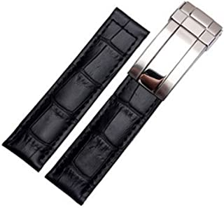 Best rolex submariner black leather strap Reviews