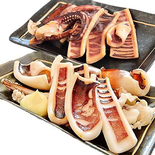 イカ屋荘三郎 いかのふっくら焼食べ比べセット(塩味 醤油味) 130g入 各1袋 石川産 国産 お取り寄せ ギフト グルメ ヤマキ食品 #元気いただきますプロジェクト