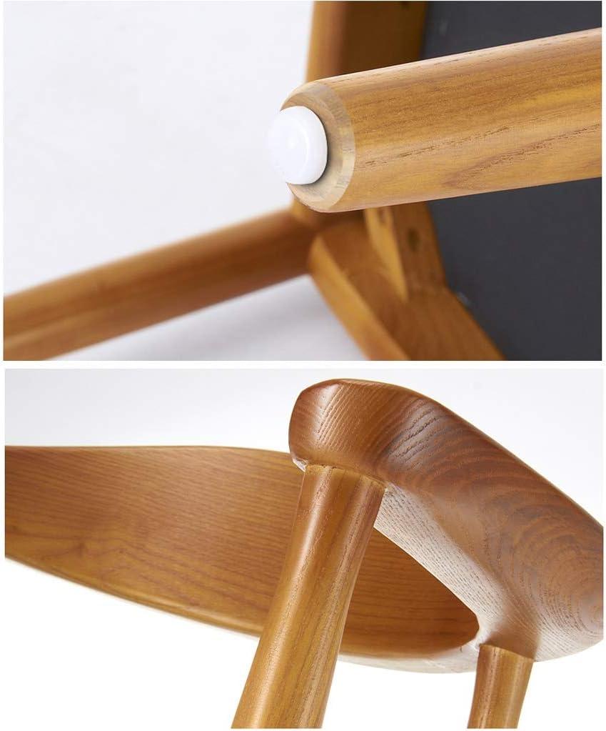 Président WGZ- Chaise de Salle, Chaise de Bureau Simple, créative Dossier, Chaise Loisirs, Maison Adulte Chaise de Salle Simple (Color : Black-A) Black-b