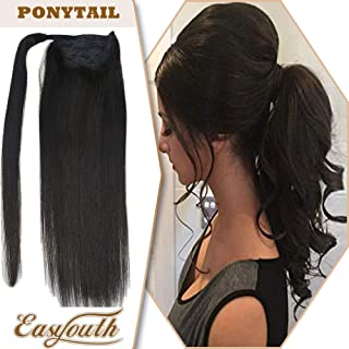 hair extensions ponytail drawstring