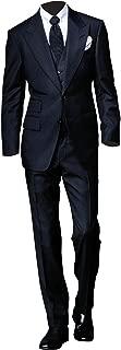 Men's Spectre James Bond 3 Piece Black Suit