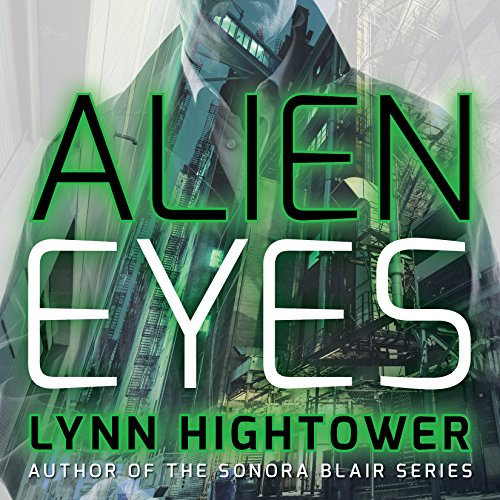 Alien Eyes audiobook cover art