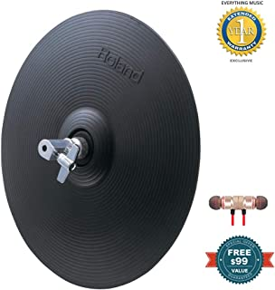 Roland VH-11 V-HI-Hat includes Free Wireless Earbuds - Stereo Bluetooth In-ear and 1 Year Everything Music Extended Warranty
