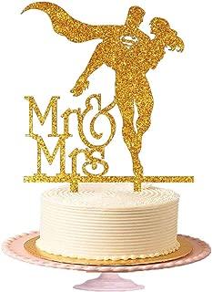Sharvgun Wedding Cake Toppers Acrylic Figurine for Wedding Cake