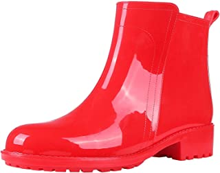 Best womens rain boots red Reviews